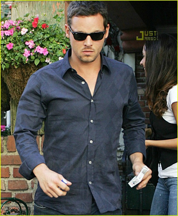 Justin Chambers Grabs Lunch Ivy 638851 Jared
