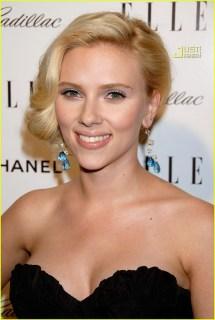 Scarlett Johansson Elle' Women In Hollywood Party 2007