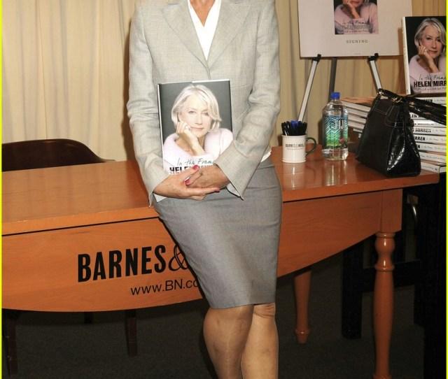 Helen Mirren Gets Framed