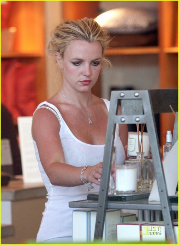 Britney Candle Crazy 1369371 Spears Jared