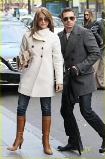 Ryan Seacrest & Julianne Hough Parisian Pair