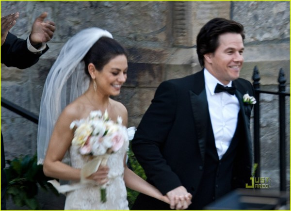 Mila Kunis Mark Wahlberg Wedding