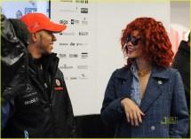 Rihanna Canadian Grand Prix With Lewis Hamilton