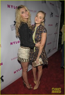 Emma Roberts & Chord Overstreet 'nylon' Party Pair