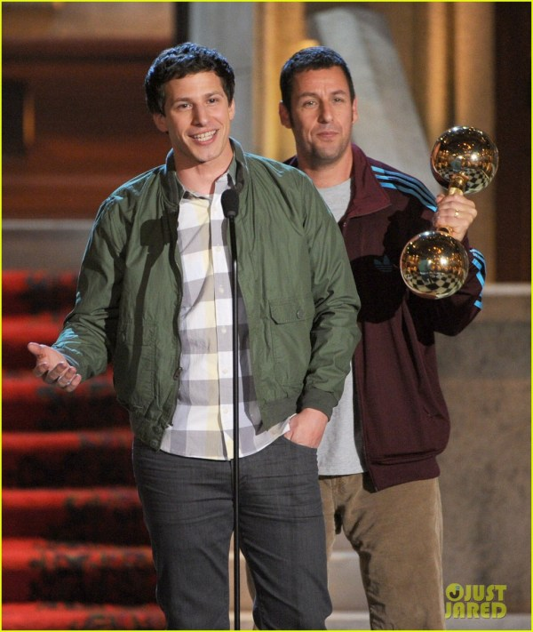 Justin Timberlake & Channing Tatum Guys Choice Awards 2012 2669819 Adam Sandler Andy