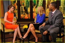 Kristen Stewart Live with Kelly and Michael