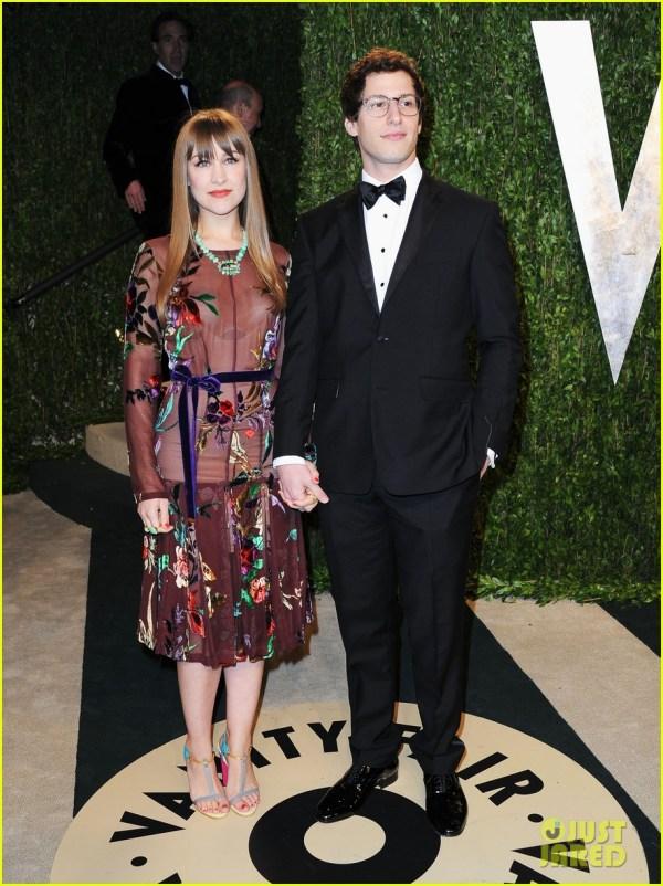 Andy Samberg Engaged Joanna 2820374 2013 Oscars