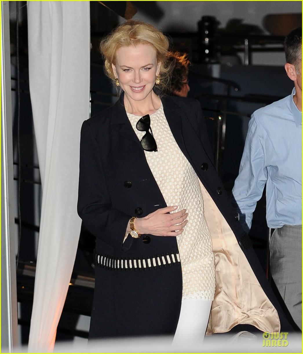 Nicole Kidman At A Party In Cannes