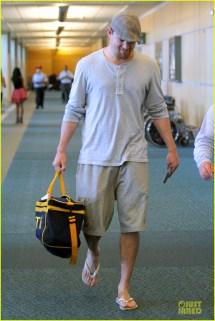 Channing Tatum Barefoot Toes