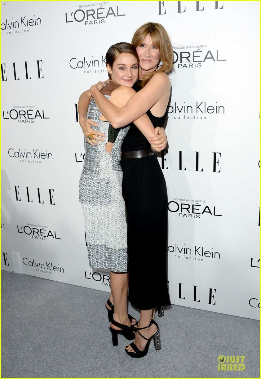 shailene woodley brie larson elle women in hollywood celebration 02