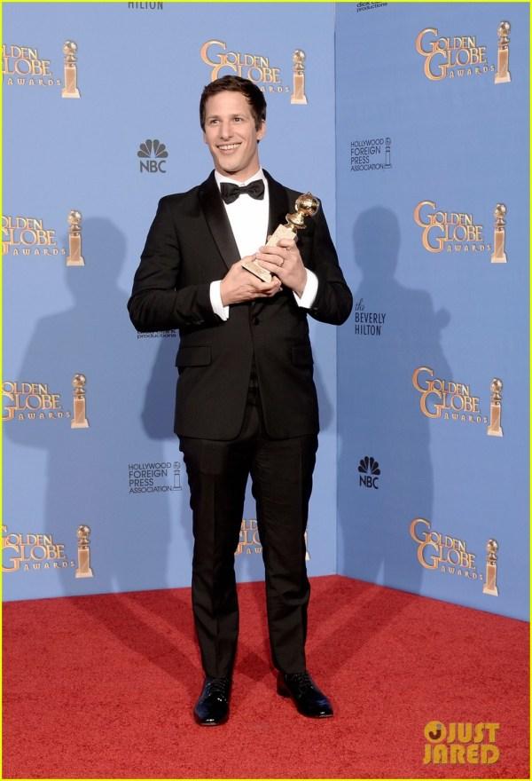 Andy Samberg Wins Tv' Comedy Actor Golden Globes 2014 3029638