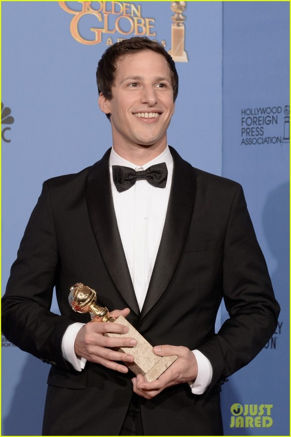 Andy Samberg Wins Tv' Comedy Actor Golden Globes 2014 3029642