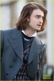 daniel radcliffe's long hair reminds