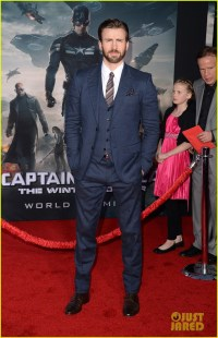 Chris Evans & Emily VanCamp Premiere 'Captain America ...