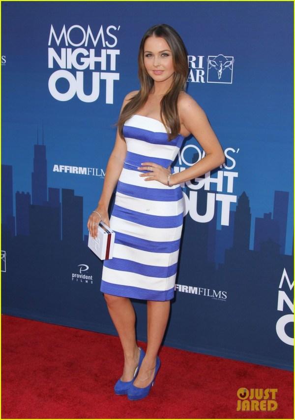 'greys Anatomy' Cast Supports Sarah Drew 'mom' Night ' Premiere 3102266 Camilla