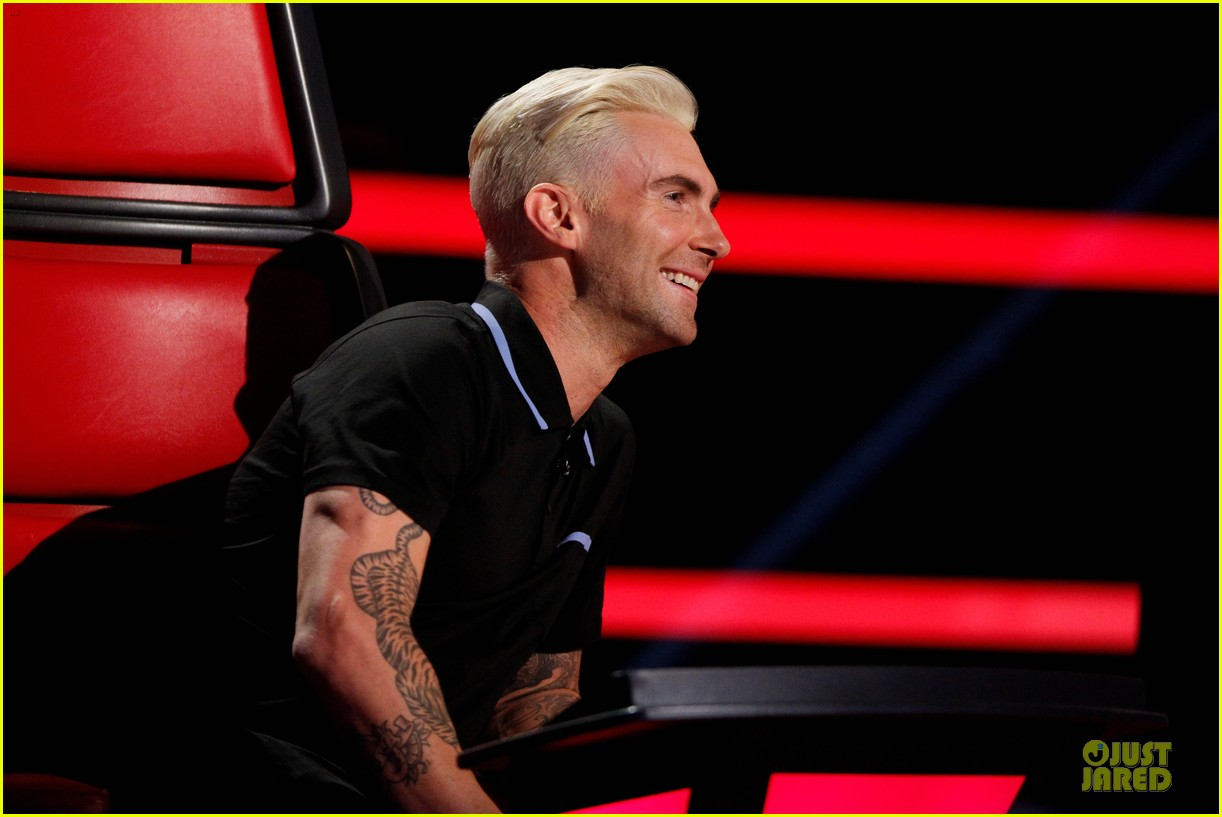 Adam Levine New Haircut 2014 The Voice