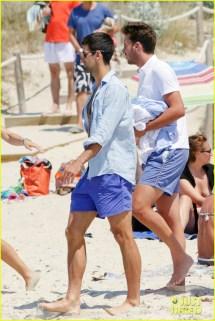 Novak Djokovic Vacation