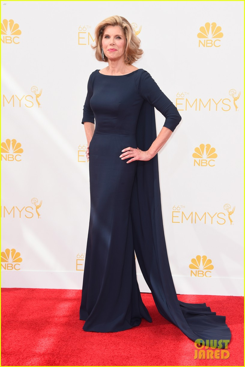 josh charles pregnant wife sophie flack emmys 2014 05