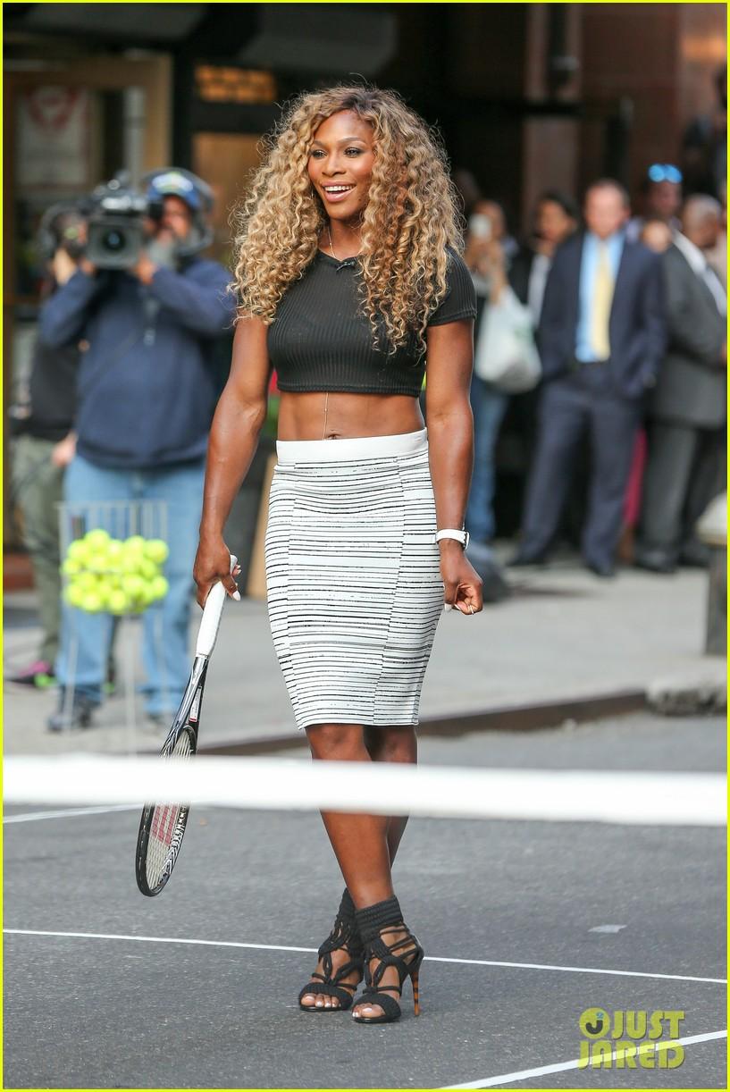 Serena Williams  Maria Sharapova Glam Up Before the US