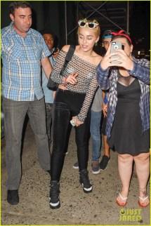 Miley Cyrus Parties In Pasties Nyfw 3191612