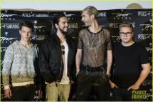 Tokio Hotel Celebrate 'kings Of Suburbia' Release