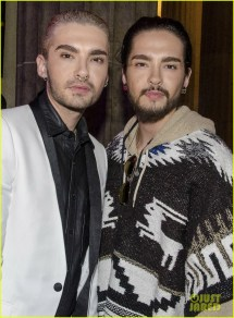 Tokio Hotel' Bill & Tom Kaulitz Ring In Year