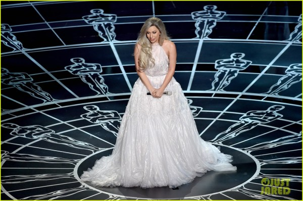 Lady Gaga39s 39Sound of Music39 Oscars 2015 Performance
