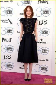 Film Independent Spirit Awards Emma Stone