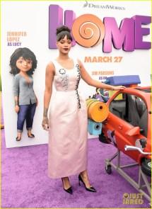 Rihanna & Jim Parsons Premiere 'home' In Sunny California