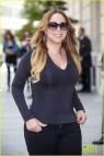 Mariah Carey Displays Lot Of Leg In Revealing