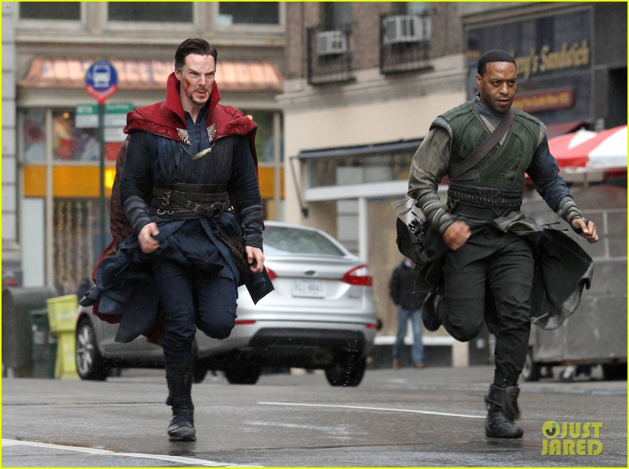 benedict cumberbatch films doctor strange in nyc first pics 03