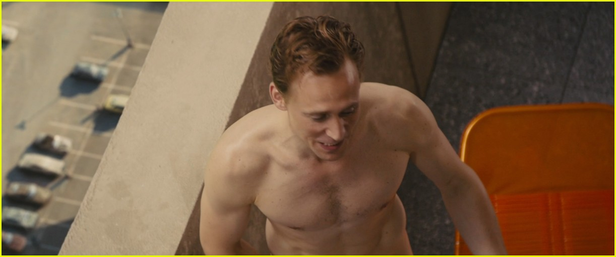 Tom Hiddleston Strips Down Completely In High Rise Clip
