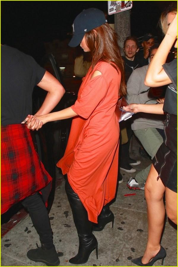 Selena Gomez Holds Hands With Guy Friend Roxy