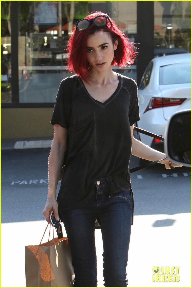 Black Hair Red Tips