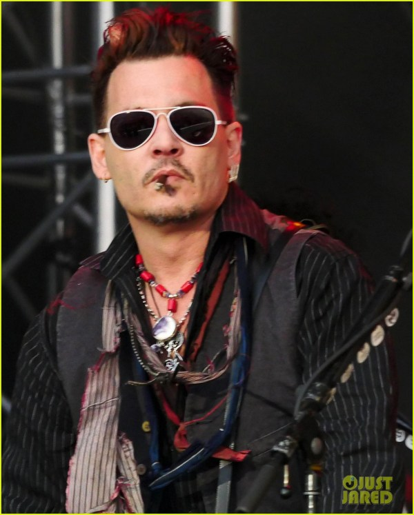 Johnny Depp Performs In Denmark Alleged Texts Emerge Referencing Domestic Abuse