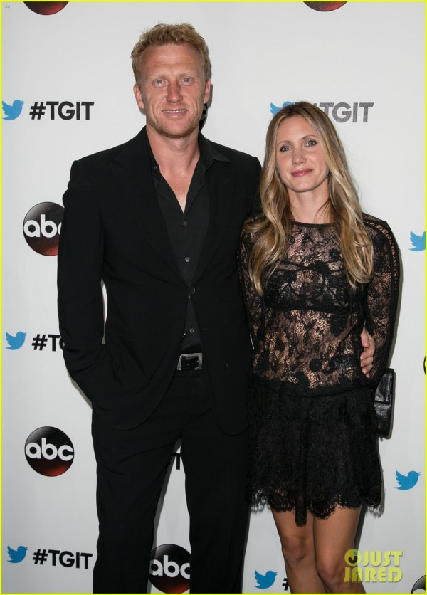Images of Kevin McKidd and Wife Jane