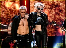 Miley Cyrus Rebel Yell Billy Idol