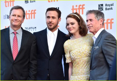 Image result for ryan gosling emma stone tiff