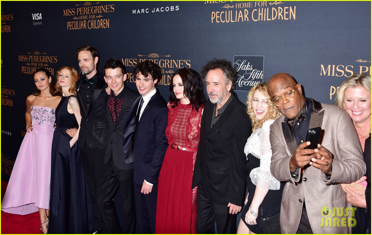 Image result for miss peregrine's home for peculiar children cast