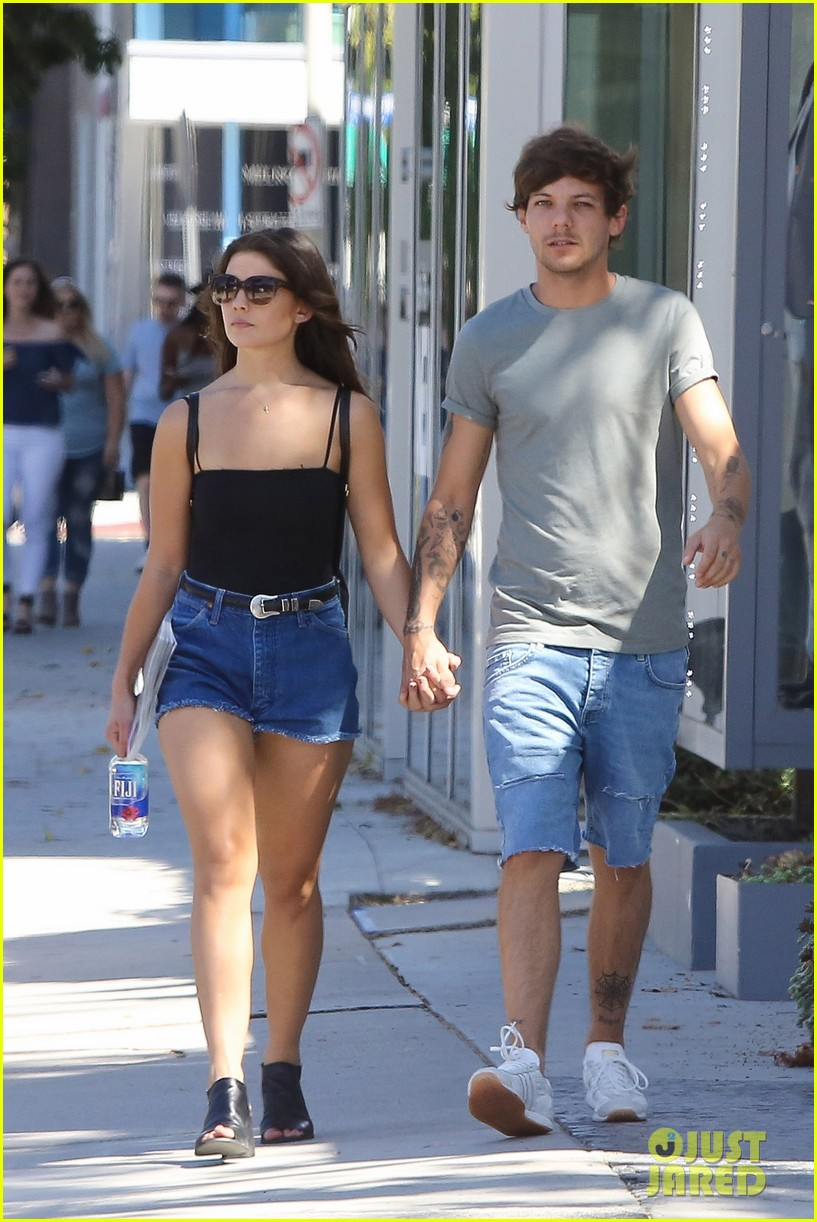 Louis Tomlinson Amp Danielle Campbell Hold Hands In WeHo