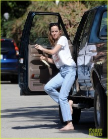 Dakota Johnson Barefoot