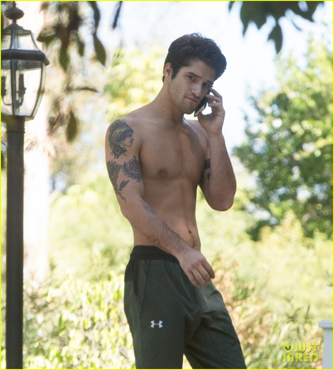 Tyler Posey Tattoo Arm