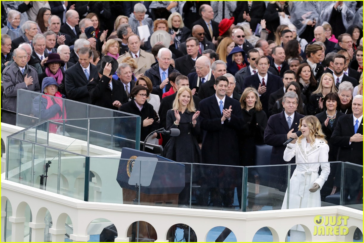 Image result for jackie evancho inauguration
