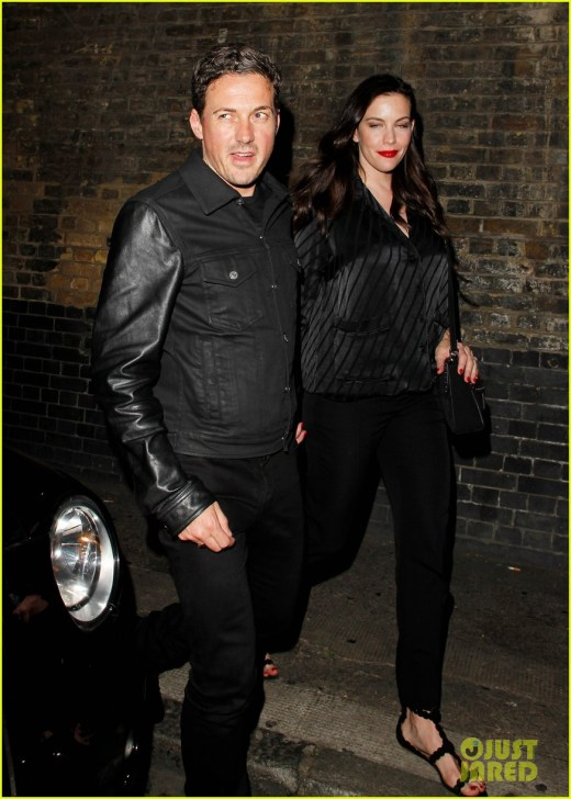 liv tyler dave gardner step out for date night033915927