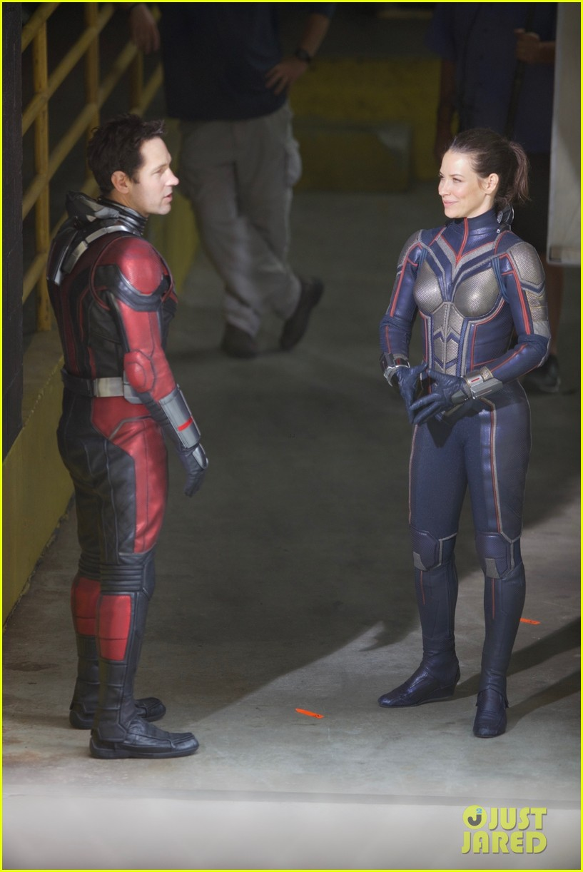 Paul Rudd Amp Evangeline Lilly Film Ant Man Amp The Wasp