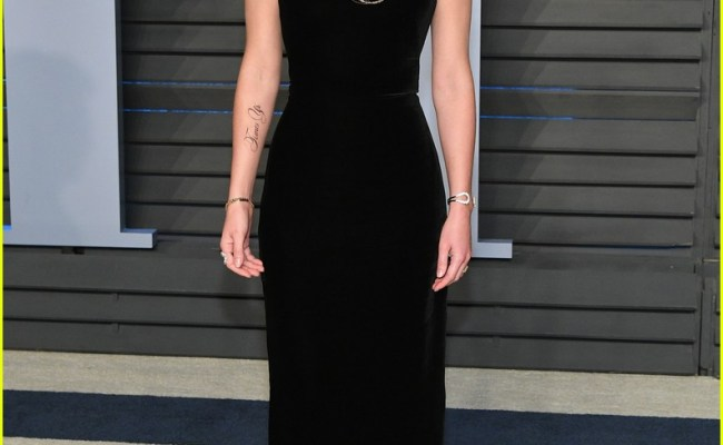 Emma Watson Reacts To Typo On Her Fake Tattoo At Oscars