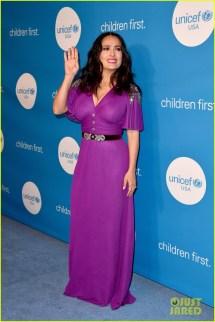 Salma Hayek & Celebs Show Support Unicef Ball