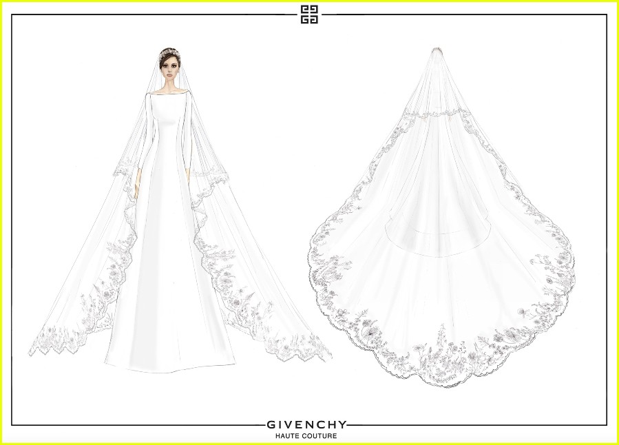 Givenchy Releases Original Sketches Of Duchess Meghan