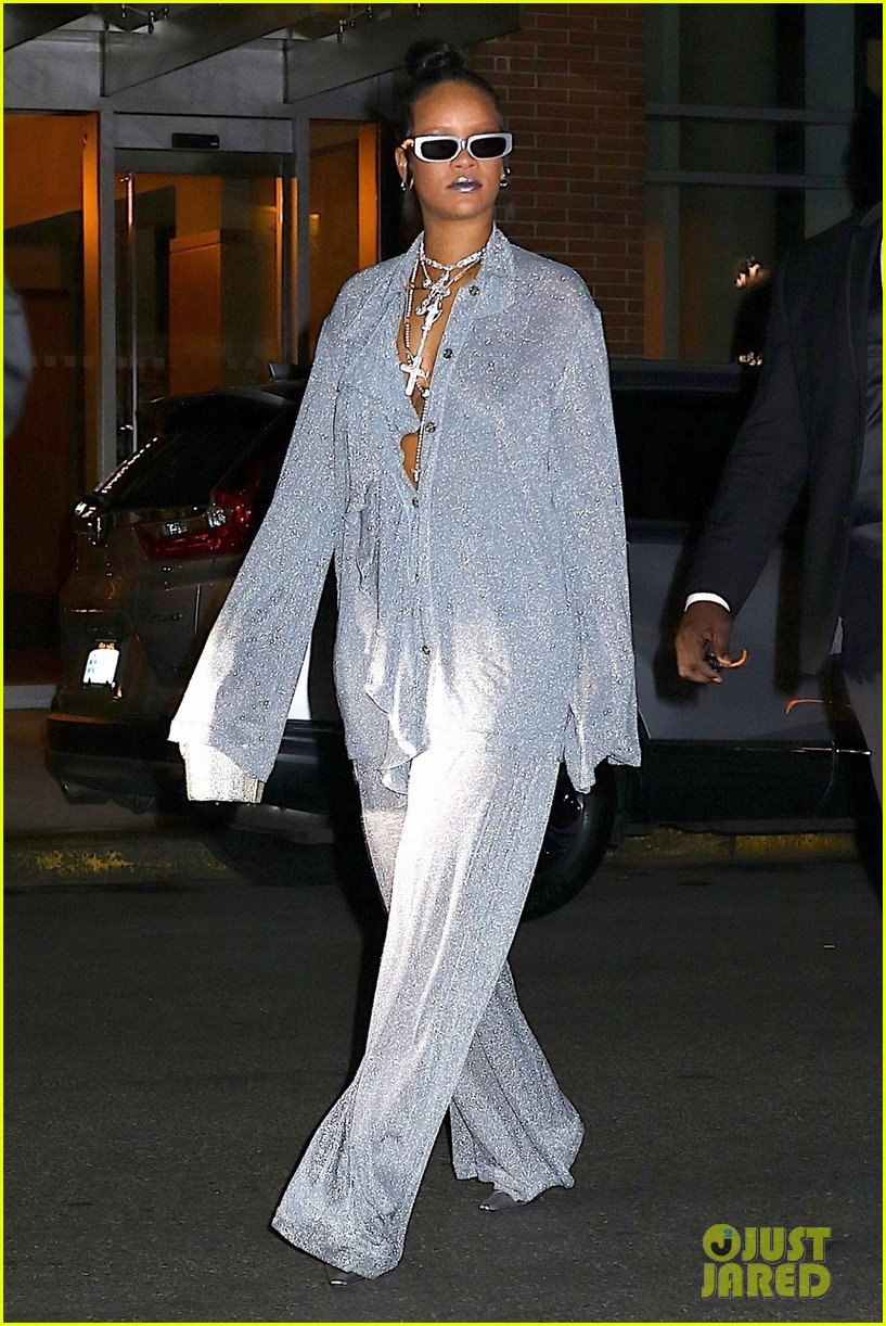 Rihanna Switches It Up For Met Gala 2018 After Party