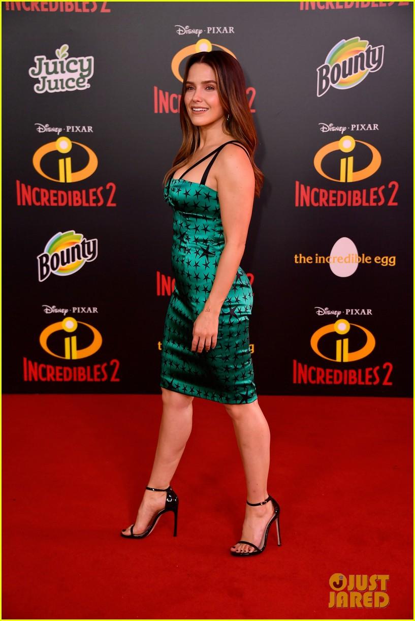 Sophia Bush Joins Incredibles 2 CoStars at LA